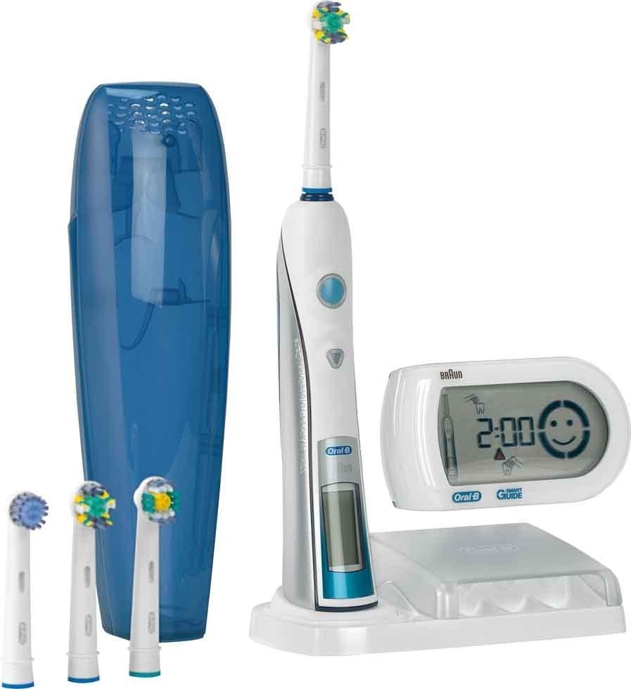 Зубна щітка Oral-B Triumph D34   5000 Smart Guide. Модель може похвалитися  абсолютно унікальною щетиною bb5496a29948a