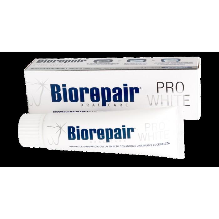 Зубная паста отбеливающая Pro White, Biorepair, 75 мл.
