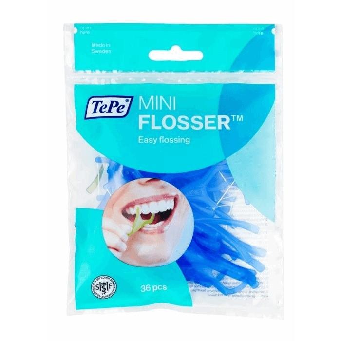 Нить межзубная на держателе, Mini Flosser TM, TePe, 36 шт.