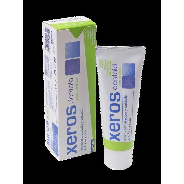Зубная паста для устранения сухости во рту, против ксеростомии Xeros, Dentaid, 75 мл.