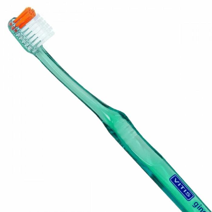Зубная щётка для пациентов с ослабленными деснами Vitis Gingival, Dentaid.
