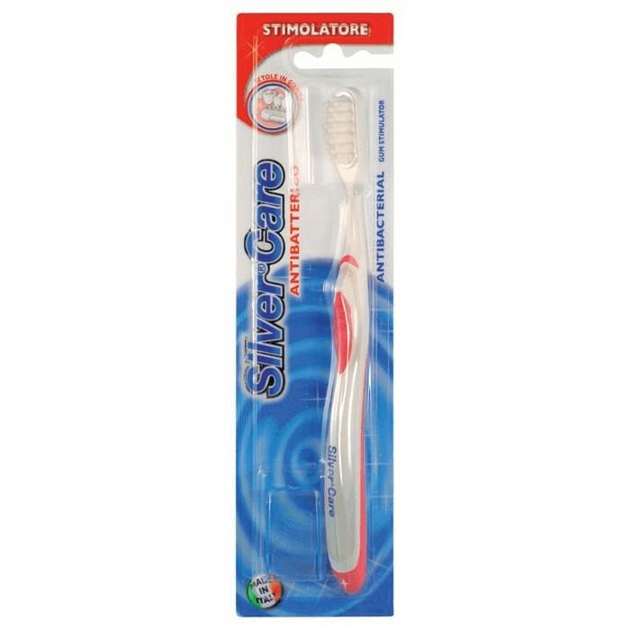 Зубная щетка для массажа дёсен и их укрепления, Silver Care.