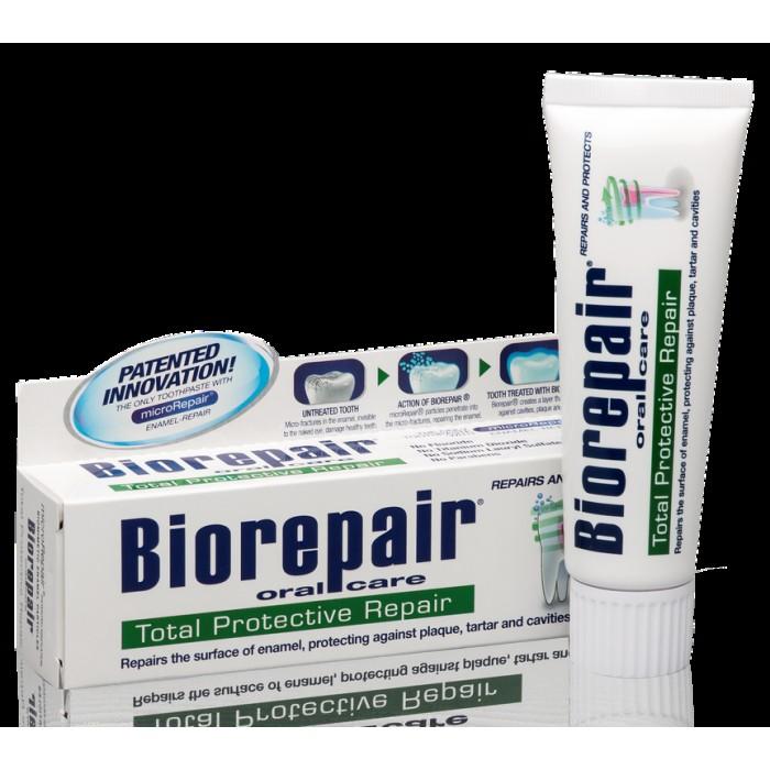 Зубная паста для комплексной защиты полости рта Total Protection Repair, Biorepair, 75 мл.