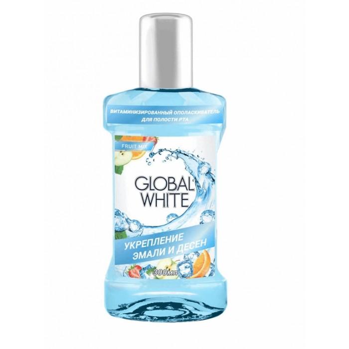 Ополаскиватель для полости рта витаминизированный, Global White, 300 мл.