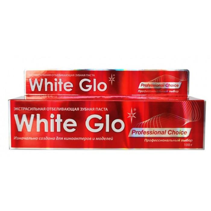 Зубная паста отбеливающая Профессиональный выбор Professional Choice , White Glo, 100 г.