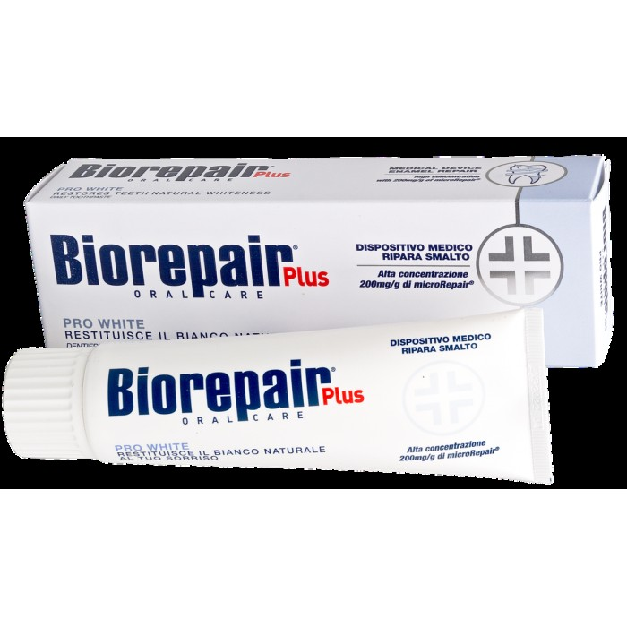 Зубная паста отбеливающая Pro White Plus, Biorepair, 75 мл.