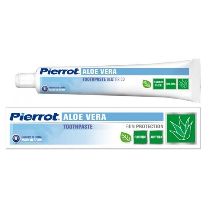 Зубная паста Aloe Vera, Pierrot, 75 мл.