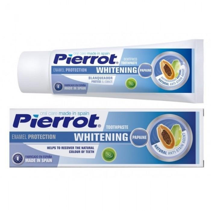 Зубная паста отбеливающая Whitening, Pierrot, 75 мл.