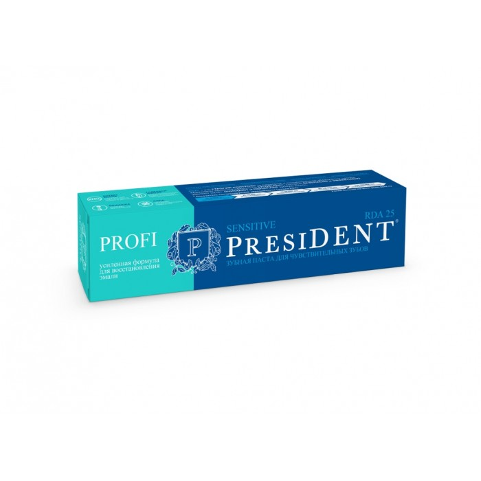 Зубная паста для чувствительных зубов Sensitive Profi, PresiDENT, 50 мл.