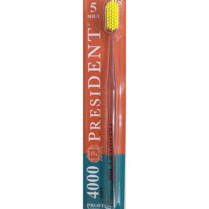 Зубная щетка Profi 4000 Soft, мягкая, PresiDENT.