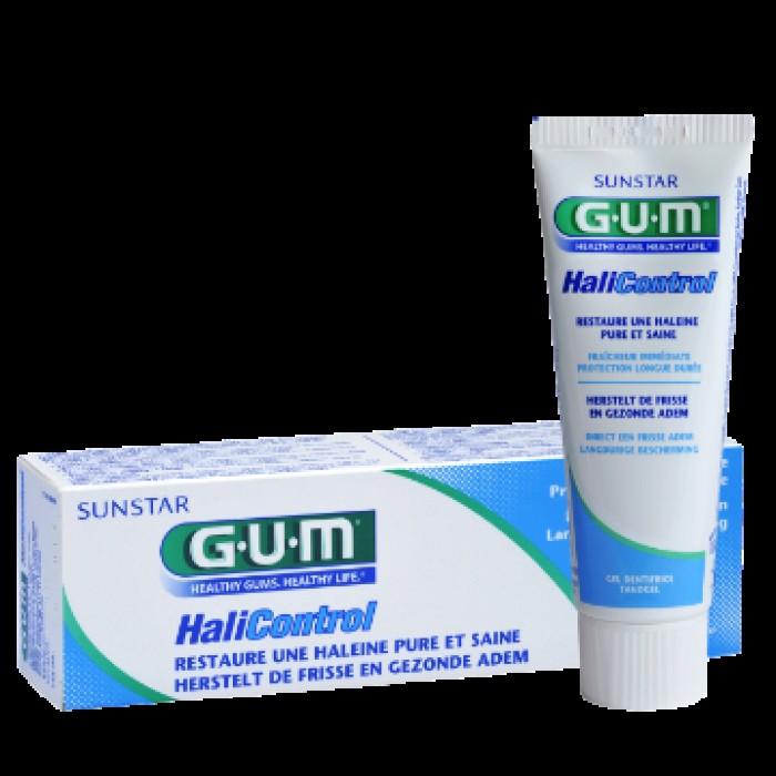 Зубная паста-гель против галитоза HaliControl, GUM, 75 мл.