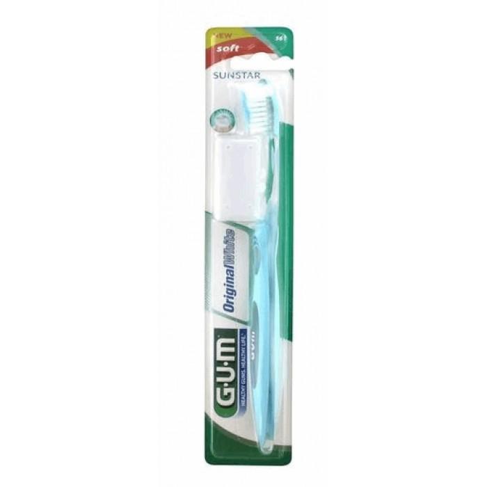 Зубная щетка Original White Soft (мягкая), GUM.