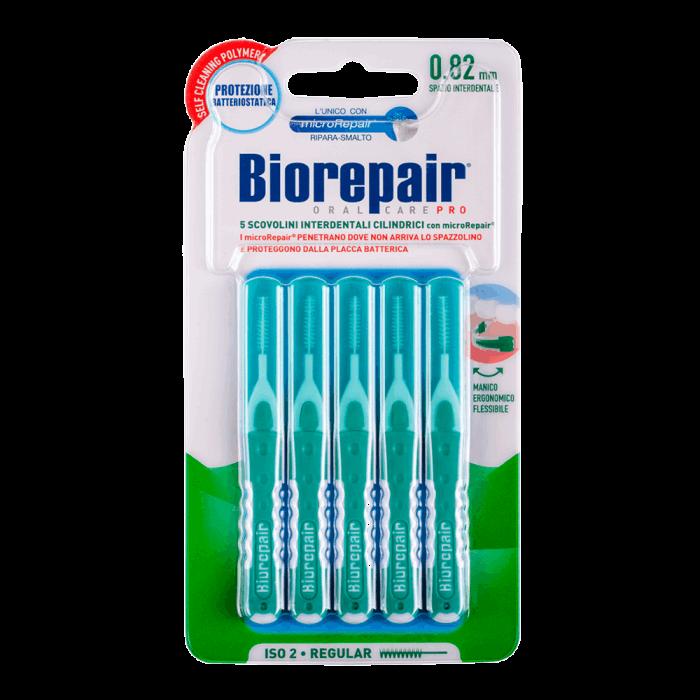 Межзубные ершики стандартные цилиндрические 0,82 мм, Interdental Brush Regular, Biorepair, 5 шт.