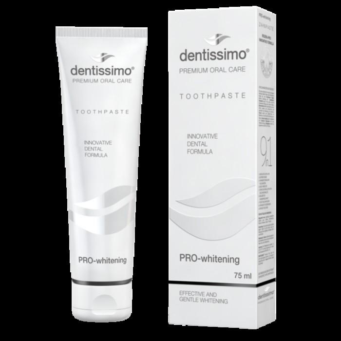 Зубная паста Профессиональное отбеливание Pro-Whitening, Dentissimo, 75 мл.