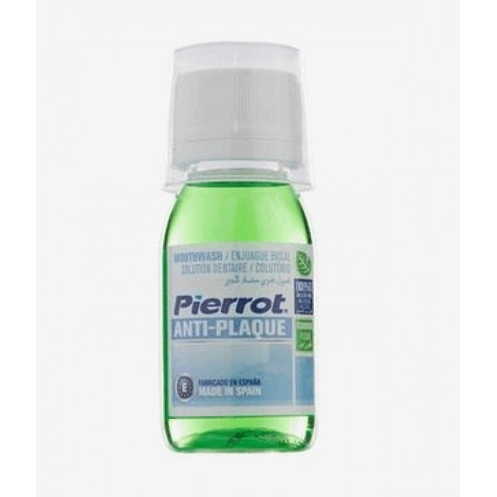 Ополаскиватель для полости рта против запаха Anti-Plaque, Pierrot, 60 мл.