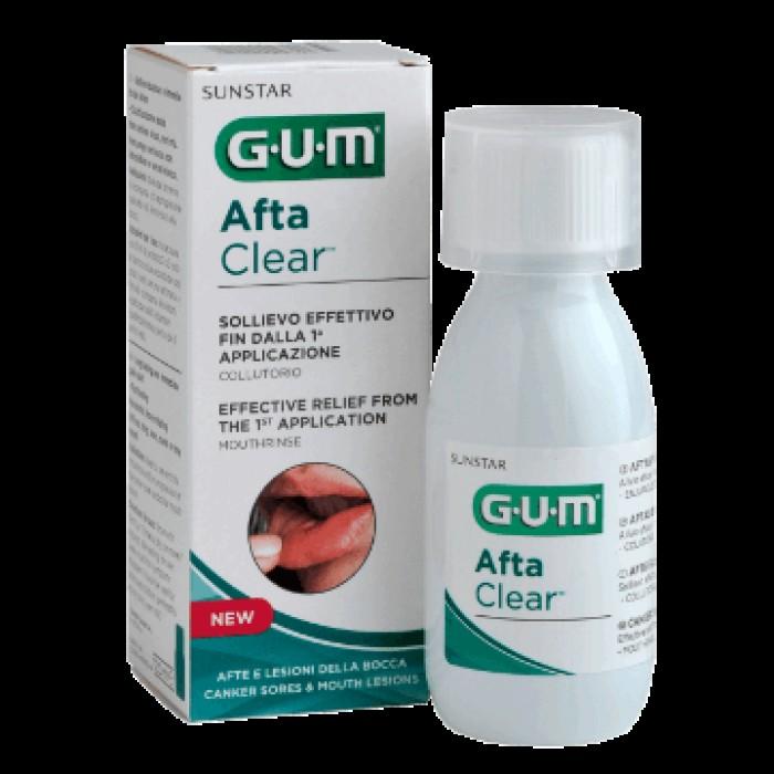 Ополаскиватель для заживления ран и язв во рту и для десен Afta Clear, GUM , 120 мл.