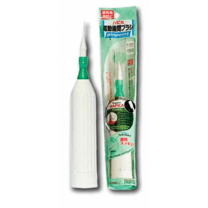 Зубная щетка звуковая электрическая с ершиком Interbrush DBP-1W, Hapica.