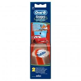 Насадки детские ЕВ10 Тачки для зубных щеток Oral-B 2 шт.