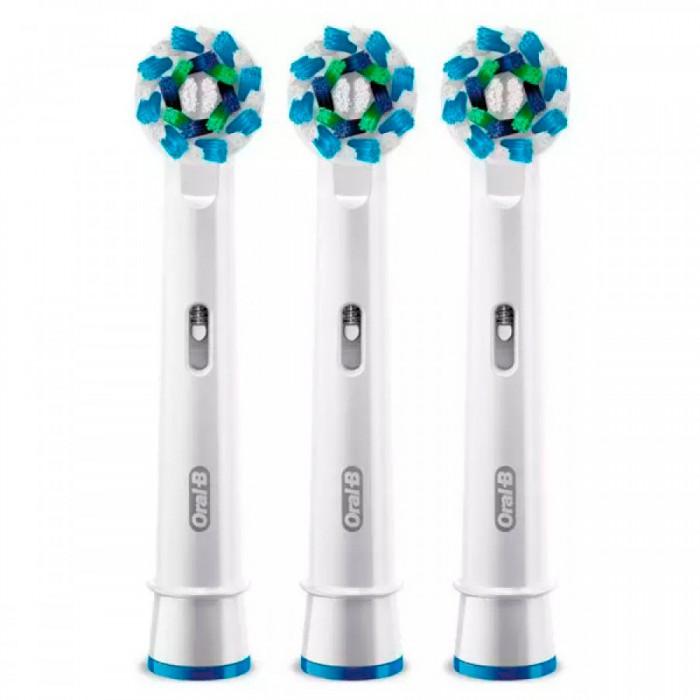 Насадки ЕВ50 Cross Action для зубных щеток Oral-B 3 шт.
