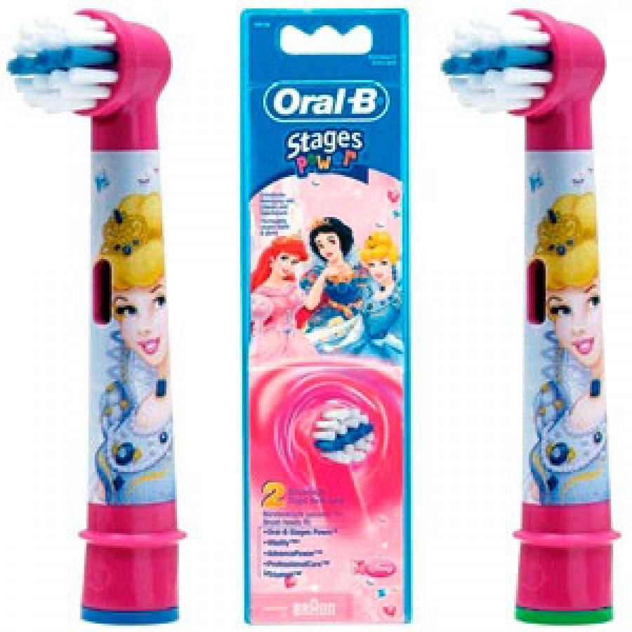 Насадки дитячі ЕВ10 Принцеса для зубних щіток Oral-B 2 шт. 242cf2ff418e4