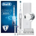Зубная щетка Oral-B Genius 8000 White 3 насадки