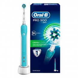 Зубна щітка Oral-B D16 PRO 500 Cross Action 3 насадки