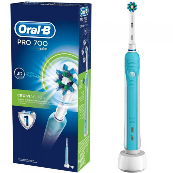 Зубная щетка Oral-B D16 PRO 700 Сross Action 1 насадка