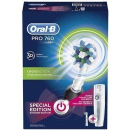 Зубная щетка Oral-B D16 PRO 760 Cross Action Black 2 насадки