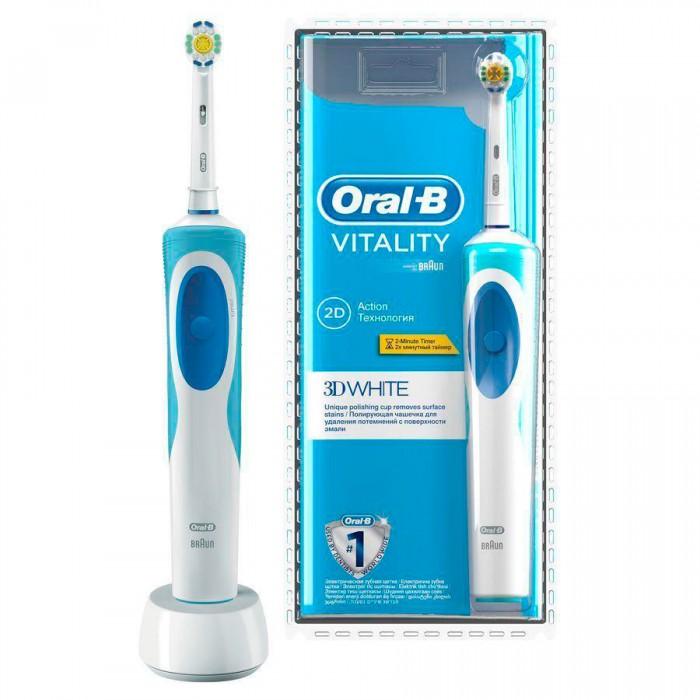 Зубная щетка Oral-B  D12.513 Vitality 3D White 1 насадка