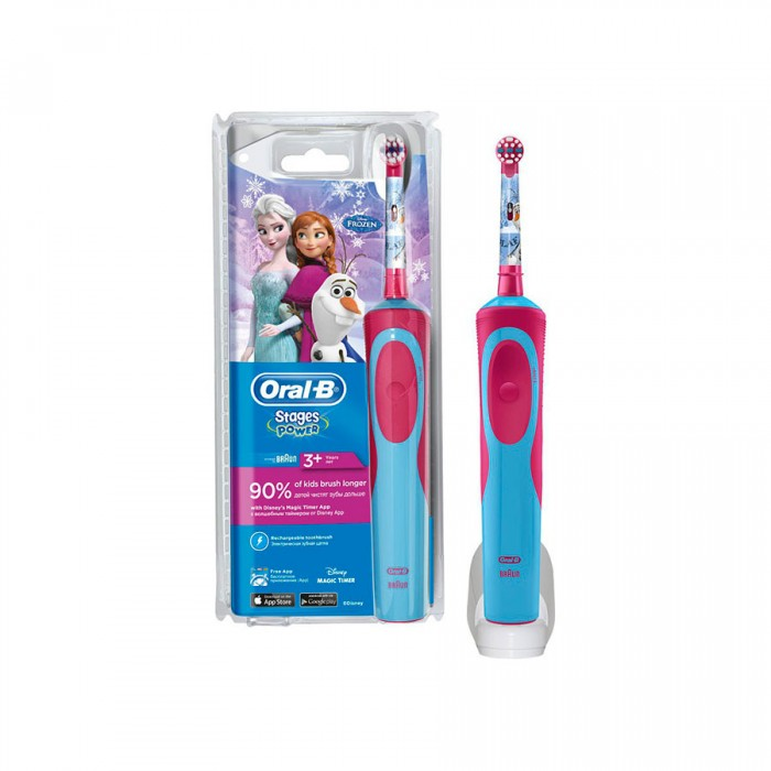 Детская зубная щетка Oral-B D12.513K Stages Frozen 1 насадка