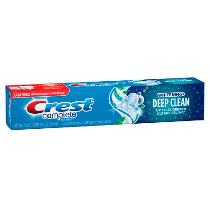 Зубная паста Crest Complete Multi-Benefit Whitening + Deep Clean